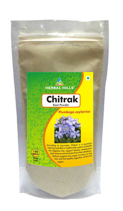 Herbal Hills Chitrak Root Powder 100Gm Pack of 3