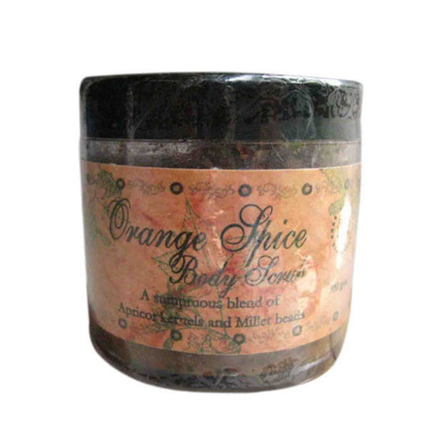 SOS Organics Orange spice body scrub