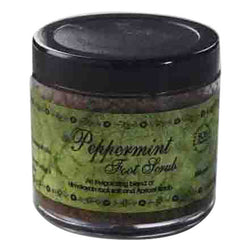 SOS Organics Peppermint Foot scrub