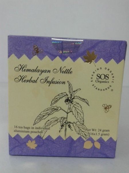 SOS Organics Himalayan Nettle Herbal Infusion 24 gm