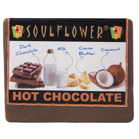Soulflower Hot Chocolate Soap - 150 gms