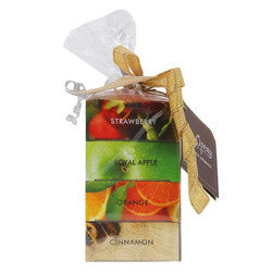 Soap Opera (3+ 1) Combo Pack - Strawberry, Orange, Green Apple, Cinnamon 400 gm