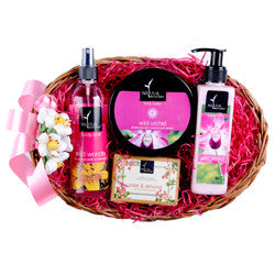Natural Bath and Body Joyful Baskets