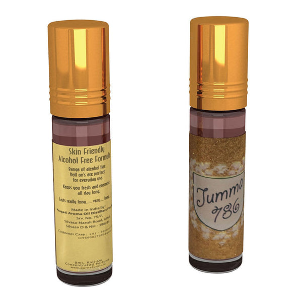 Pure Naturals - Jumma 786 Perfume Concentrate Roll On-8ml