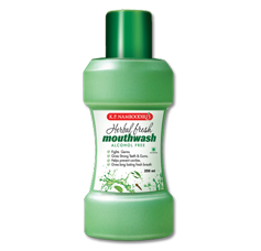 K P Namboodiris Herbal Fresh Mouth Wash 250 ml