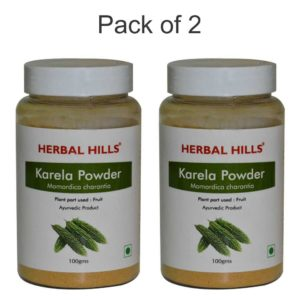 Herbal Hills Karela Powder 100Gms Pack of 2
