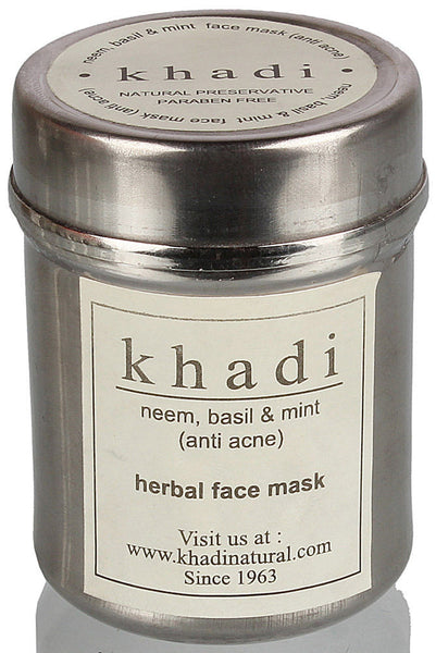 Khadi - Neem Basil & Mint Face Mask (anti acne)
