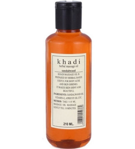 Khadi - Sandalwood Massage Oil