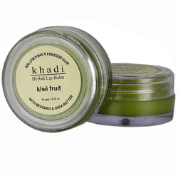 Khadi Natural Kiwi Fruit Lip Balm - With Beeswax & Shea Butter