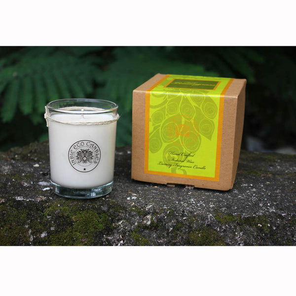 Indie Eco Candles - Fresh Lemongrass - 360 Gms