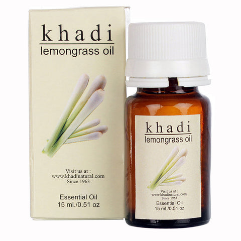 Khadi Lemongrass Oil - 15 ml