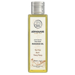 Pure Naturals - Lissome After Bath Massage Oil-100-ml