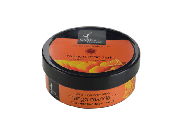 Natural Bath and Body Mango Mandarin Cane Sugar Body Scrub 200 ml