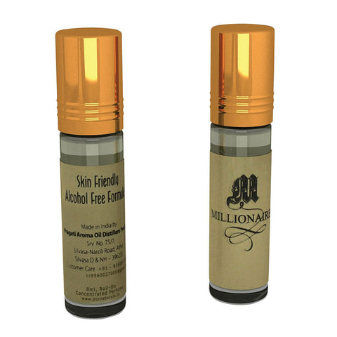 Pure Naturals - Millionaire Perfume Concentrate Roll On-8ml