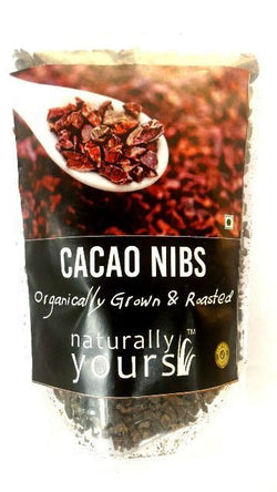 Naturally Yours Organic Cacao Nibs 100 Gms