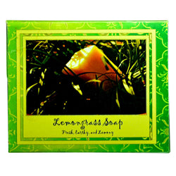 Neev Lemongrass Natural Handmade Soap