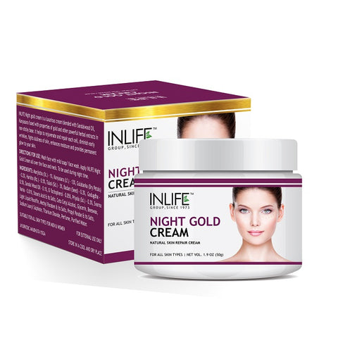 InLife Night Gold Cream 50 gm