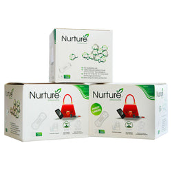 Nurture Buy TWO Get ONE 25% OFF on Chemical Free Panty Liners- Combo 2