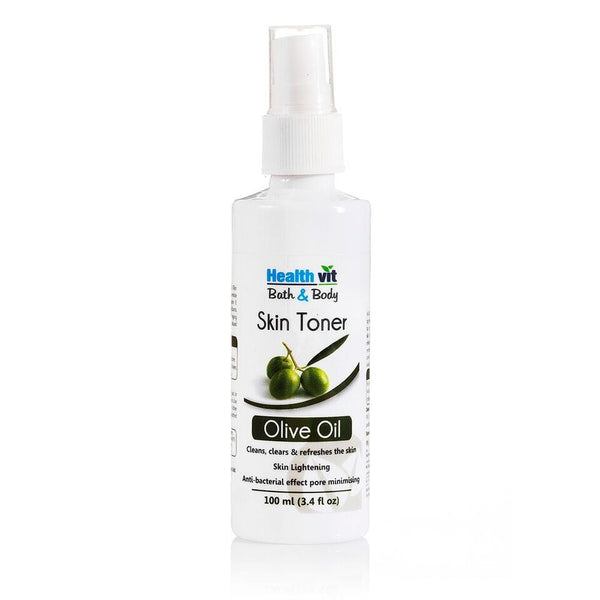 Healthvit Bath Body Natural Olive Skin Toner 100Ml