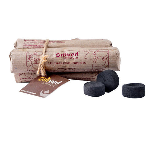 Omved Dhoop Charcoal - 30 Tablets