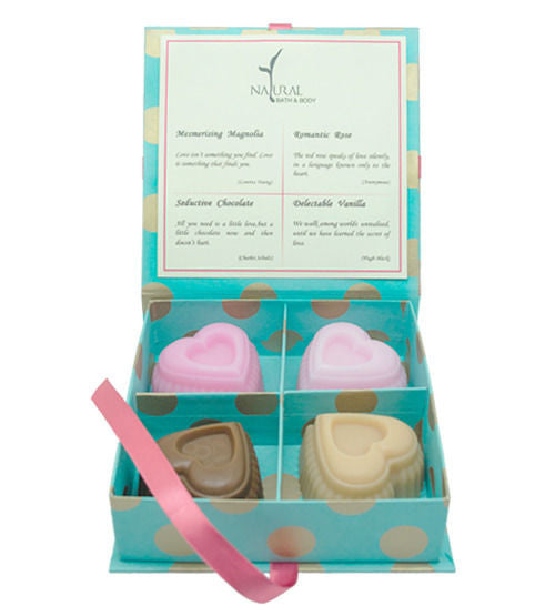 Natural Bath and Body Love Gift Box