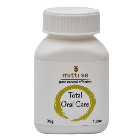 Mitti Se Total Oral Care 35gm Pack of 3