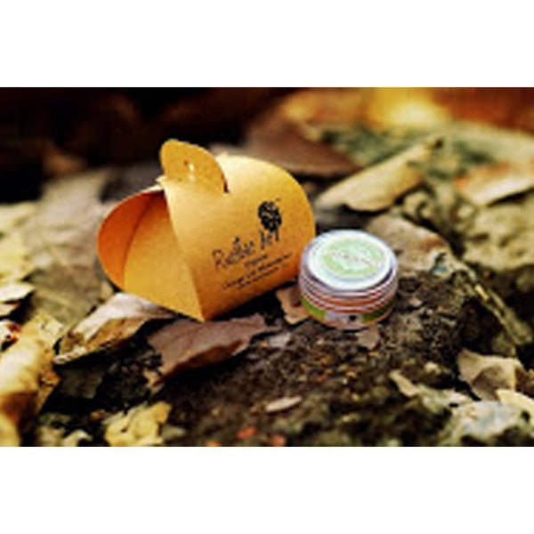 Rustic Art Organic Lip Moisturiser (Orange) - 8 gms