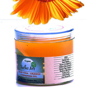 Rustic Art - Organic Aloe Vera– Orange & Cinnamon Gel