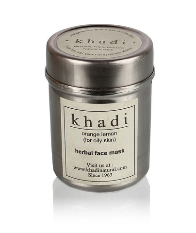 Khadi Orange & Lemon Face Mask for Oily Skin
