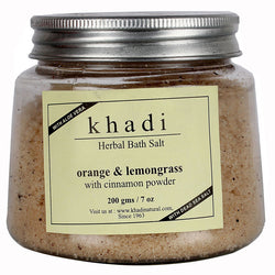 Khadi Orange & Lemongrass With Cinnamon Powder - 200 Gms