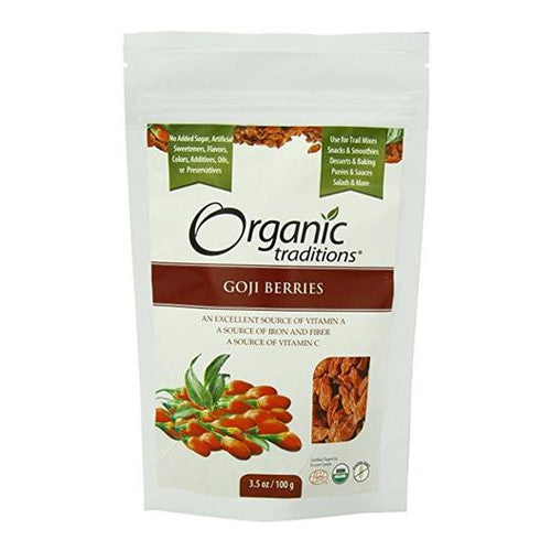 Organic Traditions Goji Berries 100gm