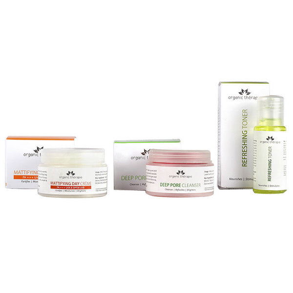 Organic Therapie Sparkiling Skin Combo