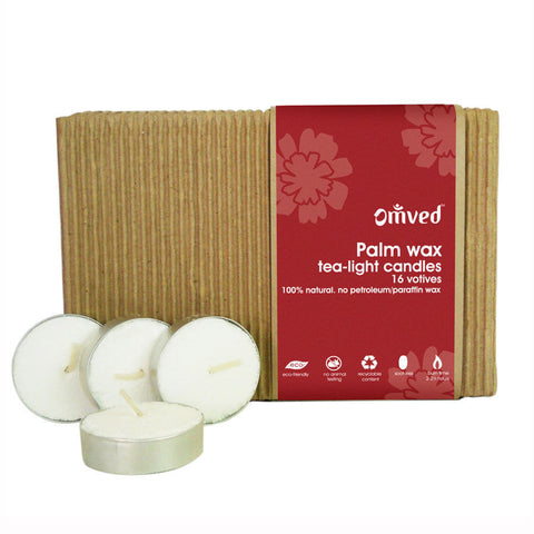 Omved Palm Wax Tea - Light Candle - 394 Gms