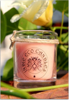 Indie Eco Candles Pink Jasmine, 240 gms