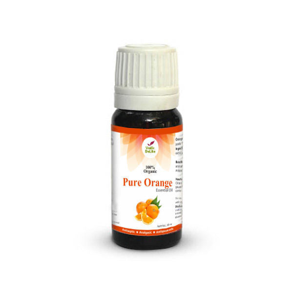 Vedic Delite Pure Orange Essential Oil 10mL