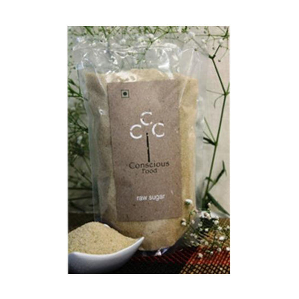Conscious Food Raw Sugar - 500 Gms