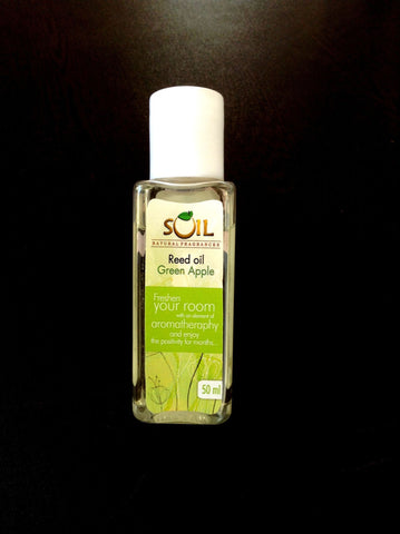 SOIL Reed Diffuser Oil Refill Green Apple 50mL