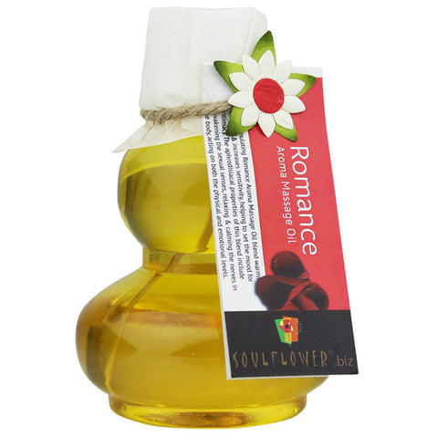 Soulflower Romance Aroma Massage Oil - 90 ml