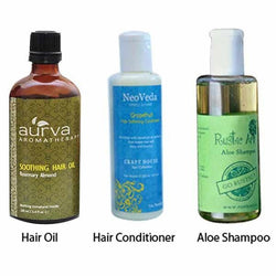 Natural Anti Hair Loss Kit