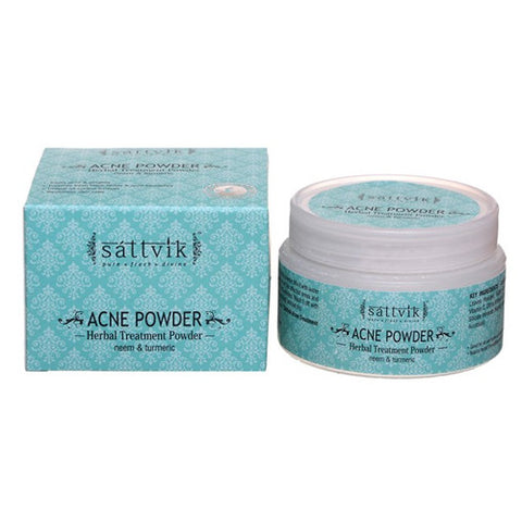 Sattvik Organics Acne Powder - 30 Gm