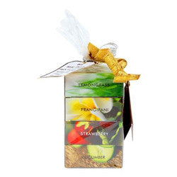 Soap Opera (3+ 1) Combo Pack - Lemongrass, Frangipani, Strawberry, Cucumber 400 gm