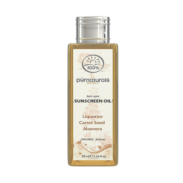 Pure Naturals - Special Tan Care Sunscreen Oil-50-ml