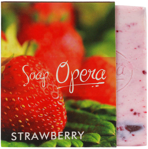 Soap Opera Fruit Soap - Strawberry 100 gm