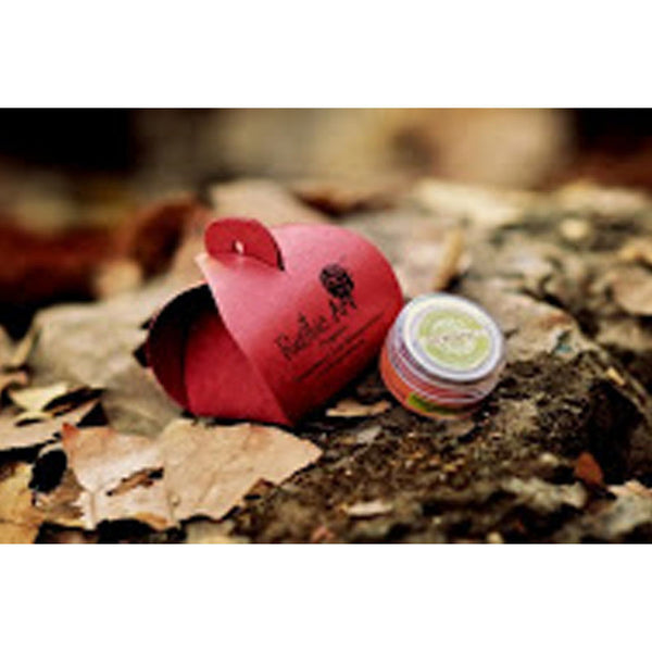 Rustic Art Organic Lip Moisturiser (Strawberry) - 8 gms