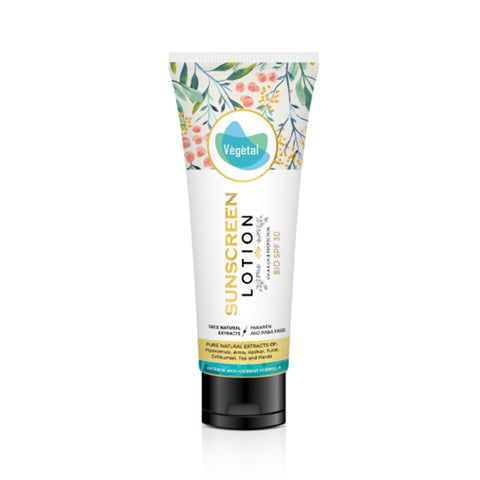Vegetal Sunscreen Lotion