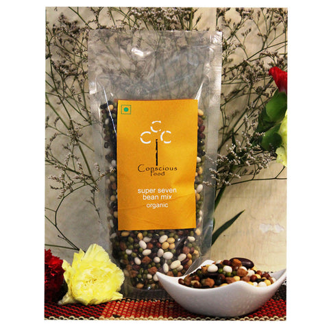 Conscious Food Super Seven Bean Mix - 200gm