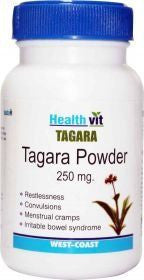 HealthVit Tagara Powder 250 mg 60 Capsules (Pack Of 2)