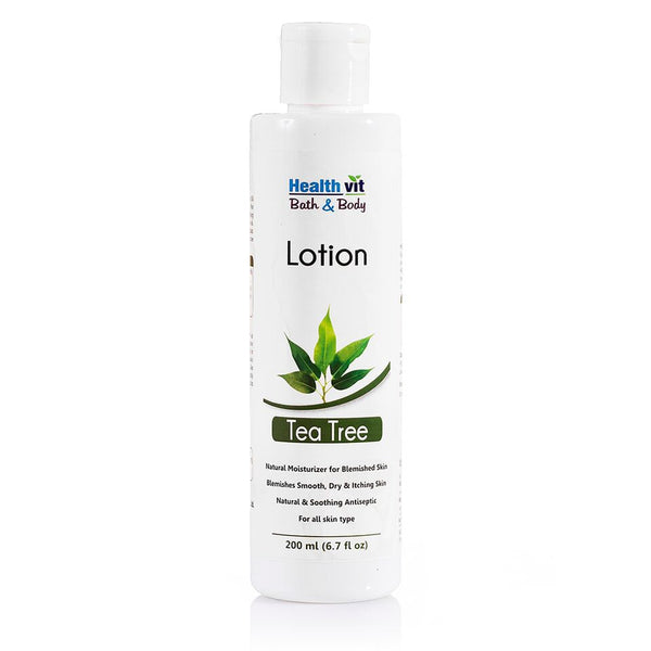Healthvit Bath Body Tea Tree Lotion 200Ml