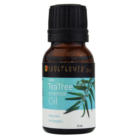 Soulflower Tea Tree Essential Oil
