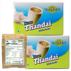 Vedantika Thandai Milk Shake - Pack of 2 - 250 Gms Each